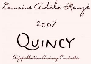 Domaine Adele Rouze Quincy
